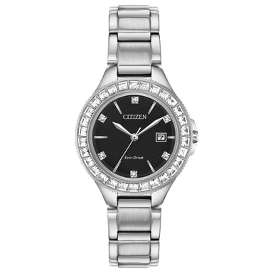 Citizen Eco-Drive Silhouette Crystal Collection FE1190-53E