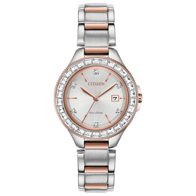 Citizen Eco-Drive Silhouette Crystal Collection FE1196-57A