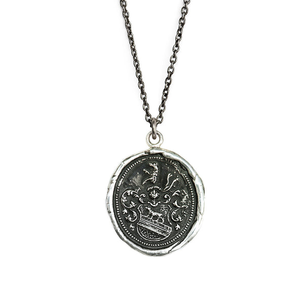 Pyrrha-Heart Of The Wolf Talisman Necklace