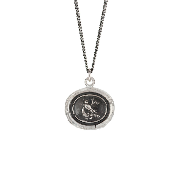 Pyrrha-I Think Talisman Necklace