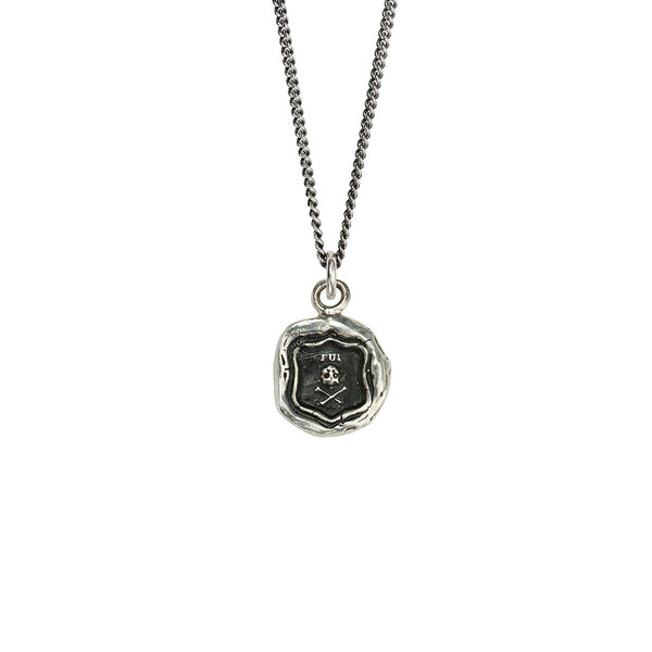 Pyrrha-I Was Here Talisman Necklace