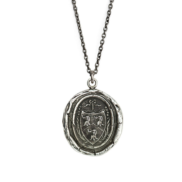 Pyrrha-Longevity, Happiness & Good Luck Talisman Necklace
