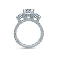 A.Jaffe Three Stone Round Engagement Ring ME1871Q/308