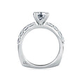 A.Jaffe Timeless Classic Shared Prong Engagement Ring MES078/20