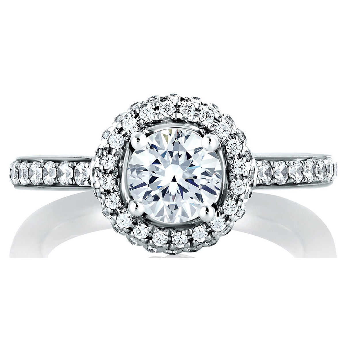 A.Jaffe Halo Wrapped Engagement Ring MES437/140