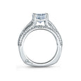A.Jaffe Five Row Diamond Dazzling Cushion Engagement Ring MES571/154