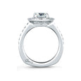 A.Jaffe Classic Halo Disc Engagement Ring MES588/154