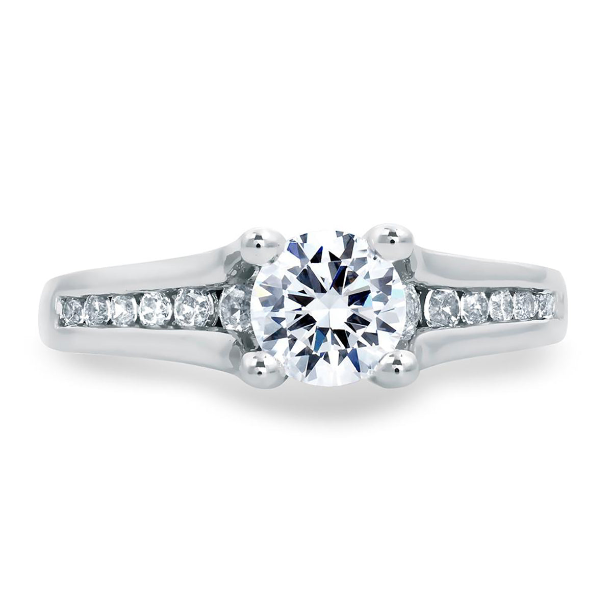 A.Jaffe Classic Prong Set Solitaire Engagement Ring MES685/103