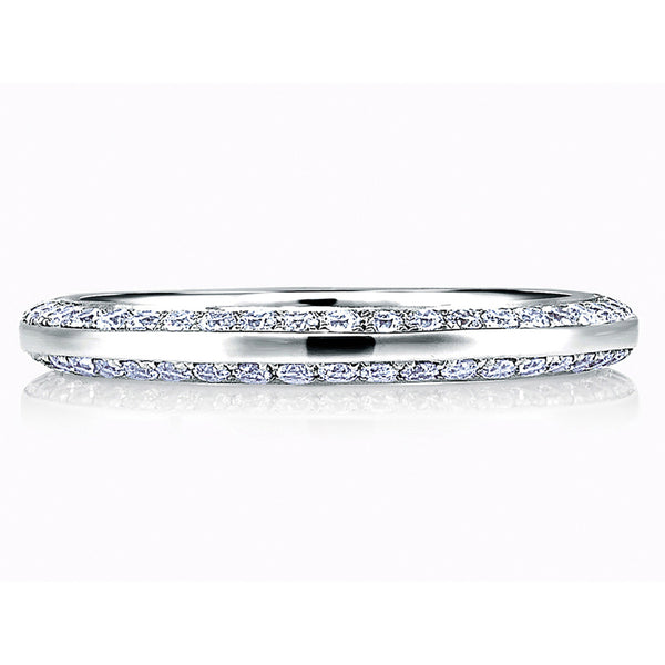 A. Jaffe Classic Side Pave Band MR1543/37