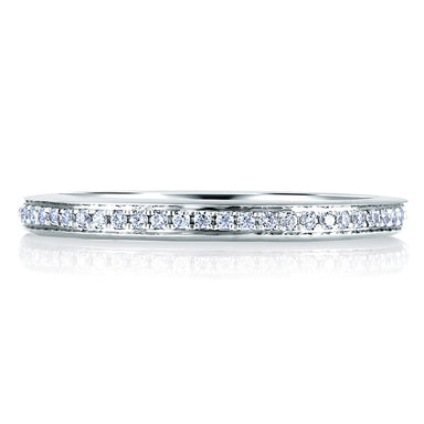 A. Jaffe Classic Micro Pave Band MR1567/12