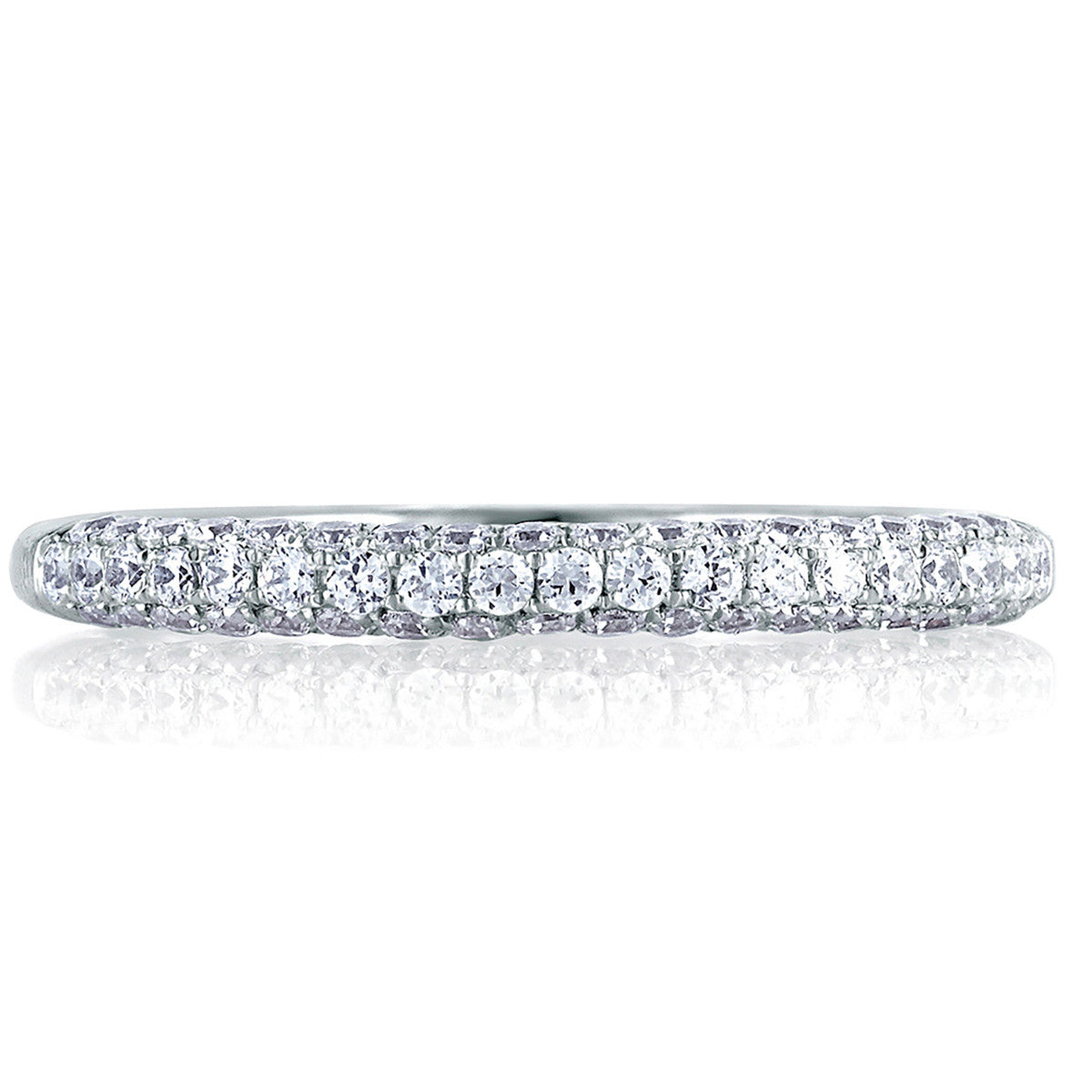 A. Jaffe All Sides French Pave Diamond Signature Band MRS307/48