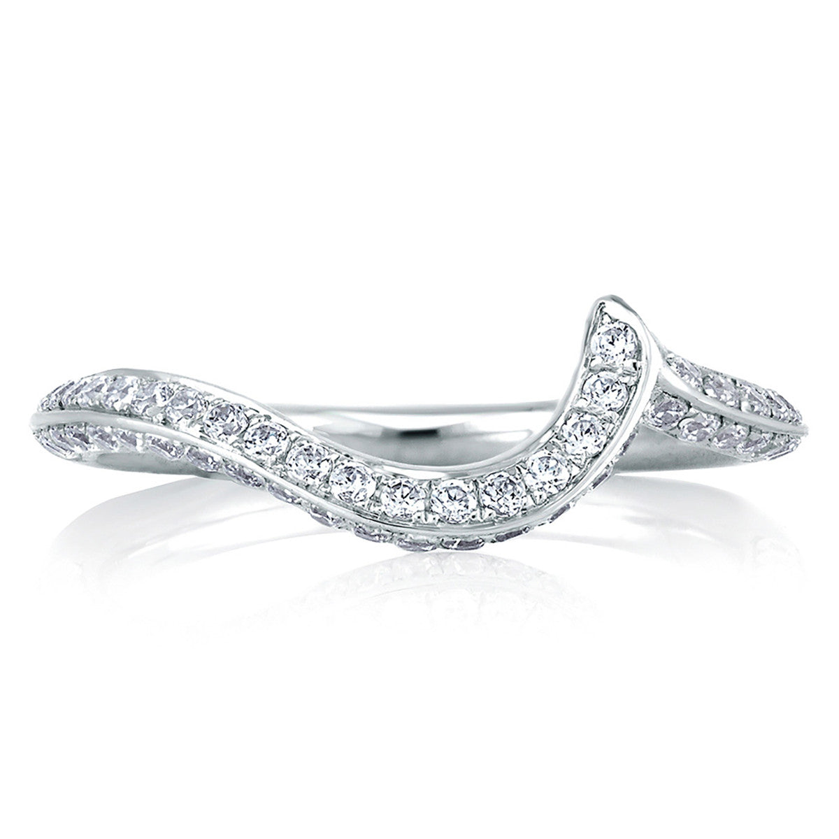 A. Jaffe Signature Diamond Swirl MRS322/37