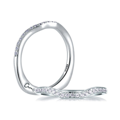 A. Jaffe Perfect Fit Pave Band MRS412/17
