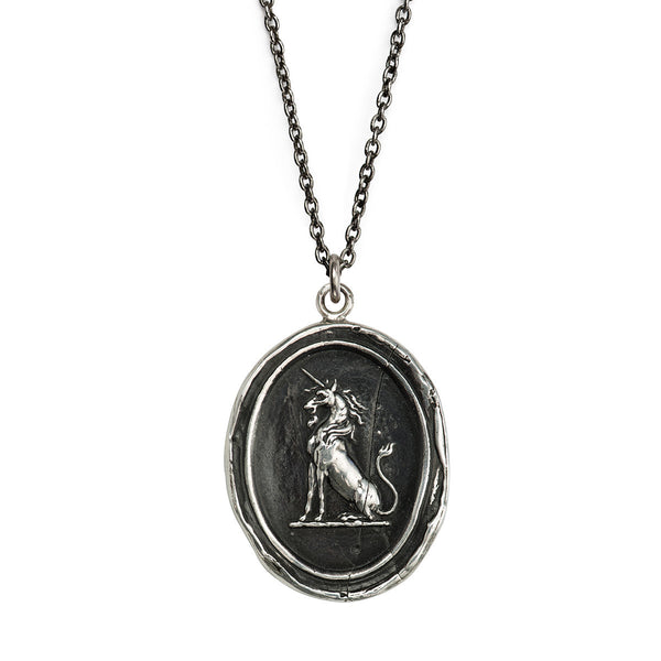 Pyrrha-Power To Heal Talisman Necklace