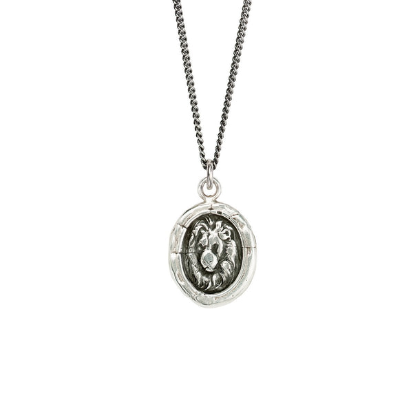 Pyrrha-Lion Head Talisman Necklace