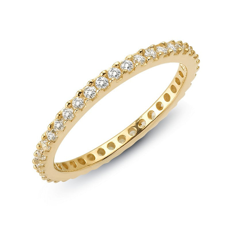 Lafonn Signature Lassaire Simulated Diamond Eternity Stackable Ring R0101CLG