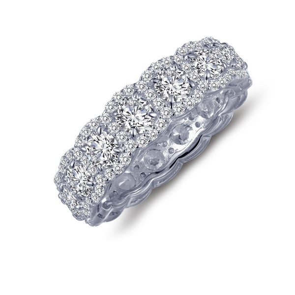 Lafonn Signature Lassaire Simulated Diamond Halo Eternity Ring R0139CLP