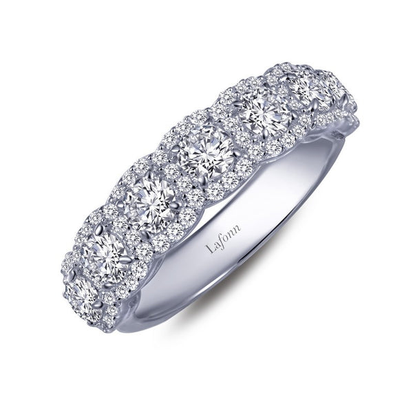 Lafonn Signature Lassaire Simulated Diamond Multi Halo Ring R0140CLP