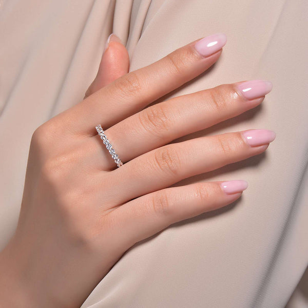 Lafonn Signature Lassaire Simulated Diamond Eternity Ring R0149CLP