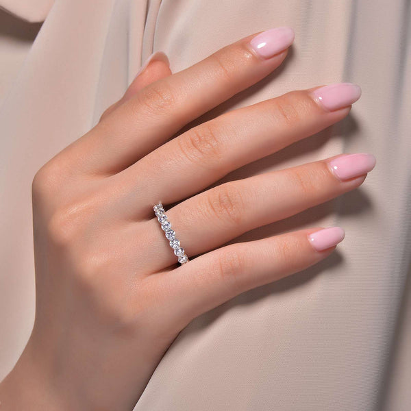 Lafonn Signature Lassaire Simulated Diamond Eternity Ring R0150CLP