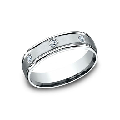 Benchmark Comfort Fit Bezel Set Eternity Wedding Band RECF516140
