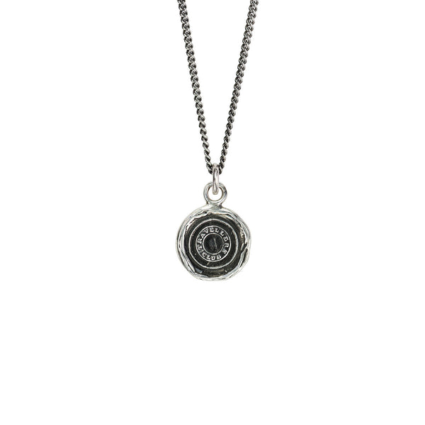 Pyrrha-Safe Travels Talisman Necklace