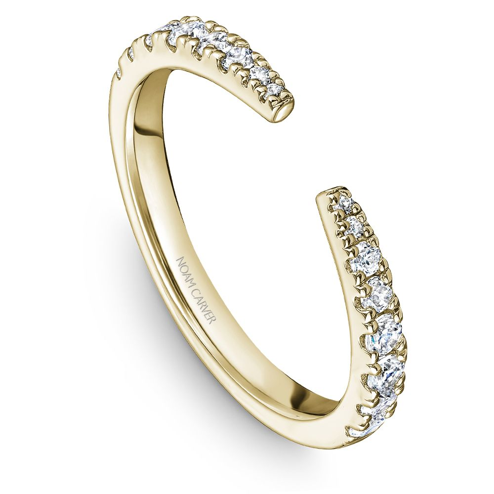 Noam Carver Stackable Collection 0.38cttw. Diamond Fashion Ring STA22-1