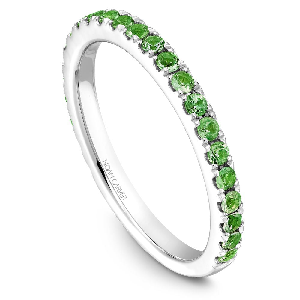 Noam Carver Stackable Collection 0.52cttw. Tsavorite Garnet Fashion Ring STA3-1-T