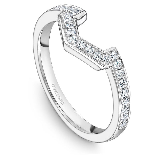Noam Carver Stackable Collection 0.22cttw. Diamond Fashion Ring STA39-1