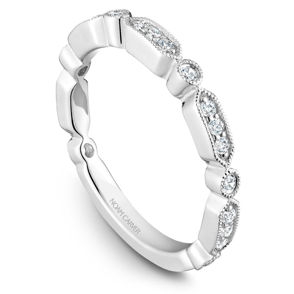 Noam Carver Stackable Collection 0.26cttw. Diamond Fashion Ring STB15-1
