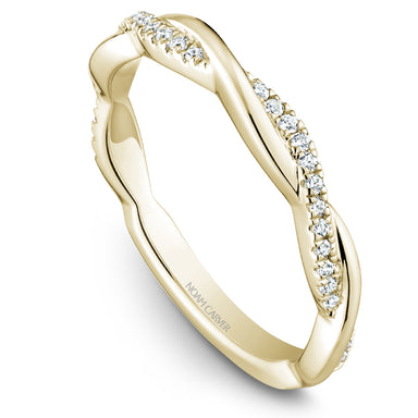 Noam Carver Stackable Collection 0.16cttw. Diamond Fashion Ring STB21-1