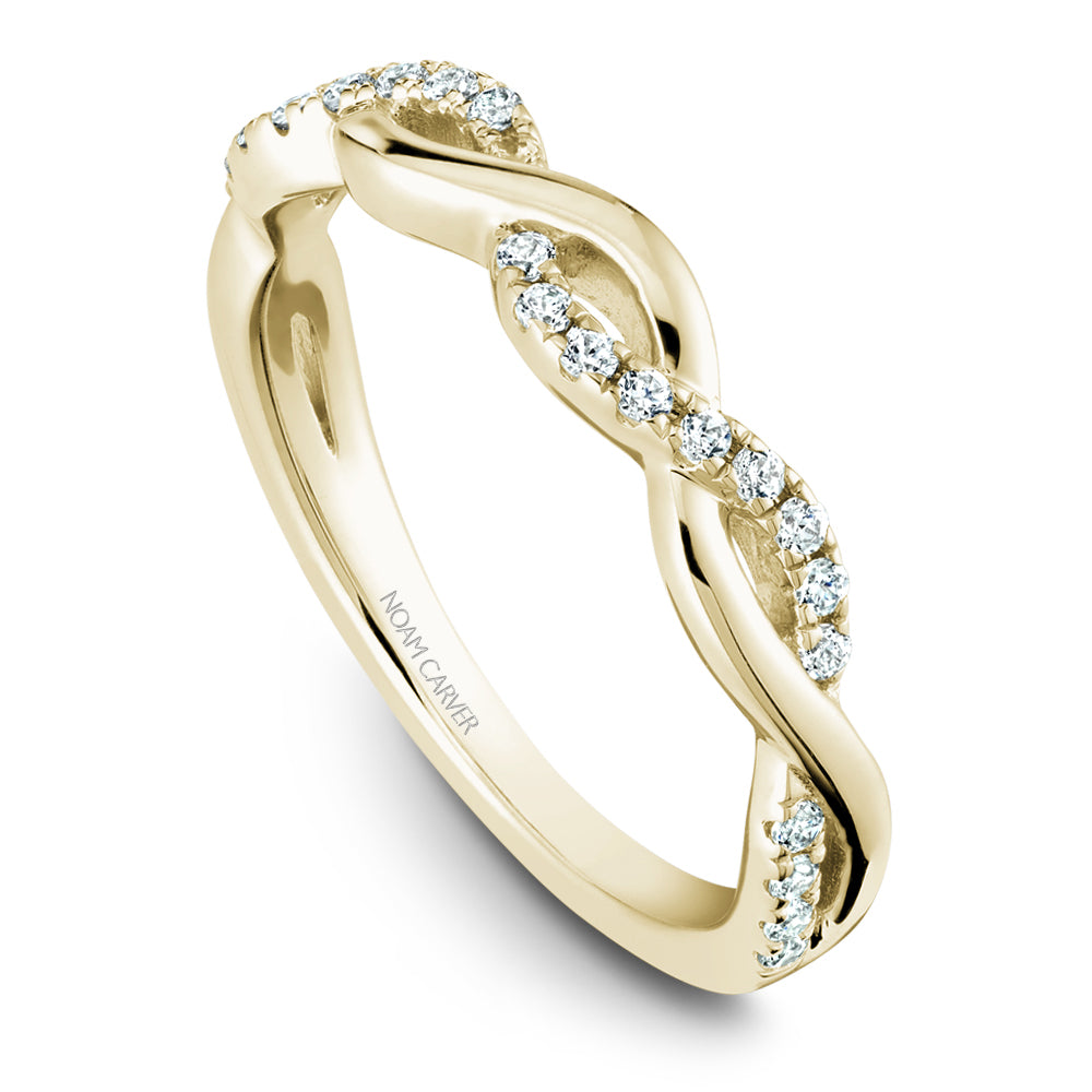 Noam Carver Stackable Collection 0.21cttw. Diamond Fashion Ring STB21-2