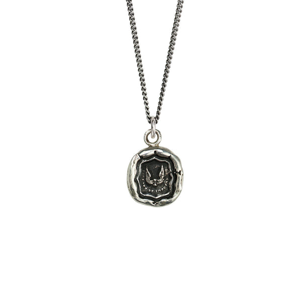 Pyrrha-Time Is Precious Talisman Necklace