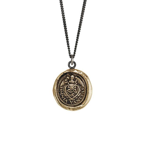 Pyrrha-Vanity Talisman Necklace