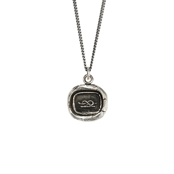 Pyrrha-Well Being Talisman Necklace