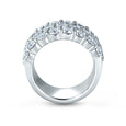 A. Jaffe Three Row Shared Prong Anniversary Ring WR0825/207