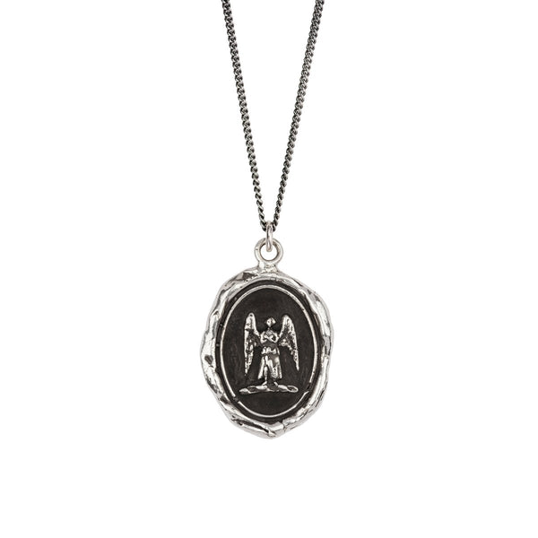 Pyrrha-Guardian Angel Talisman Necklace
