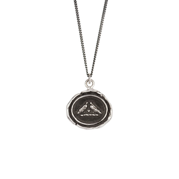 Pyrrha-Love Birds Talisman Necklace