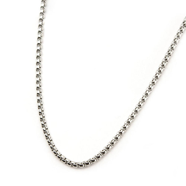Inox Jewelry Stainless Steel 2mm Bold Box Chain NSTC0119