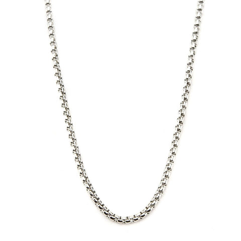 Inox Jewelry Stainless Steel 3mm Bold Box Chain NSTC0120