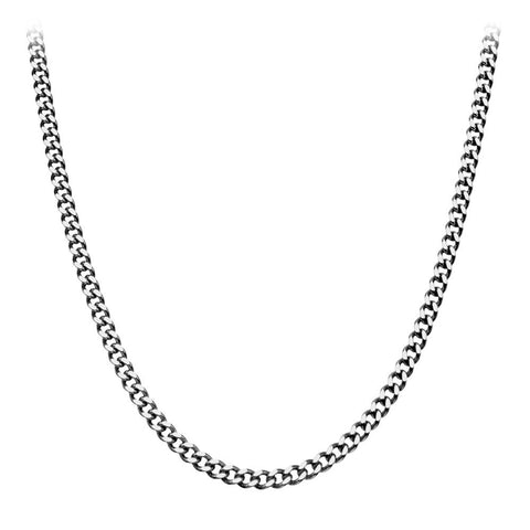 Inox Jewelry Stainless Steel 5mm Diamond Cut Chain NSTC0331