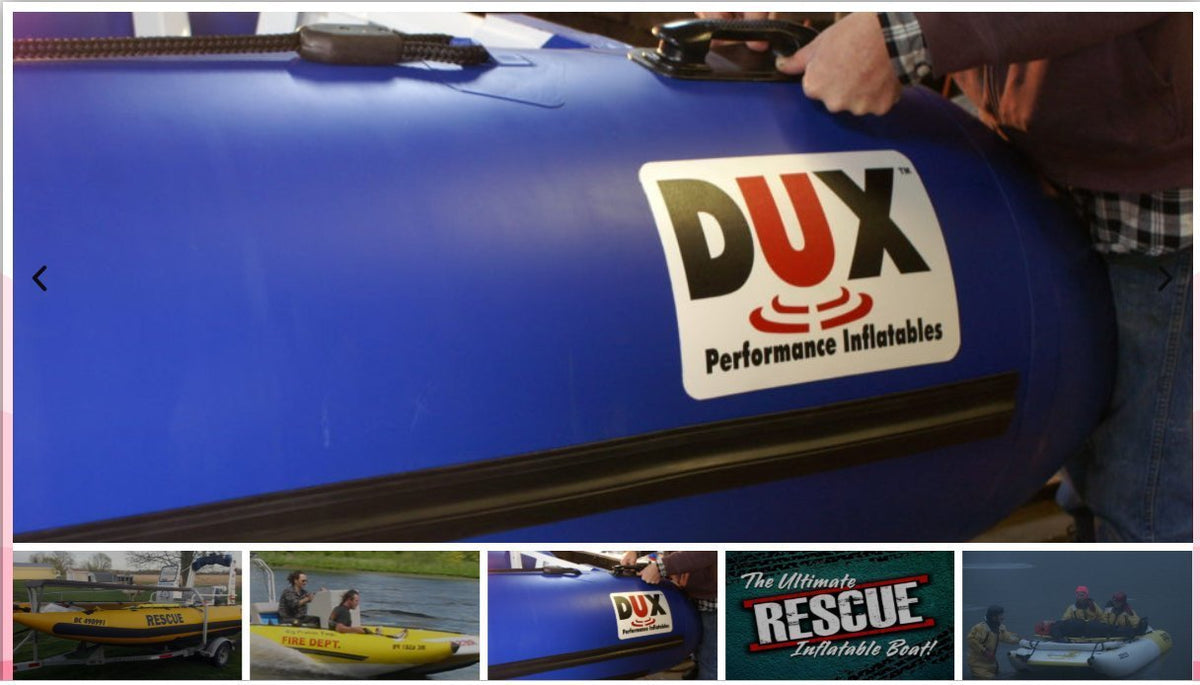 Boats - Rescue Inflatable Motor Boat DUX SRD-550