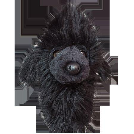 Club Head Cover - Black Poodle Hybrid Head Cover
