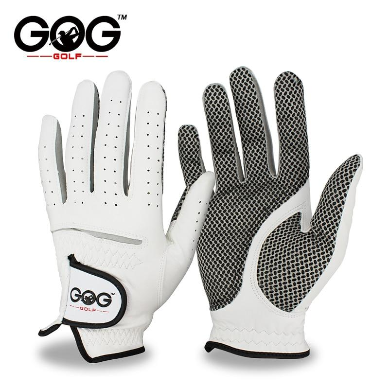 Golf Gloves For Men - Men's Left Right Hand Soft Breathable Pure Sheepskin Golf Gloves Genuine Leather Golf Gloves Free Shipping