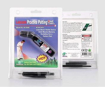 Golf Training Aid - Golf Putter Laser Sight Practice Aid