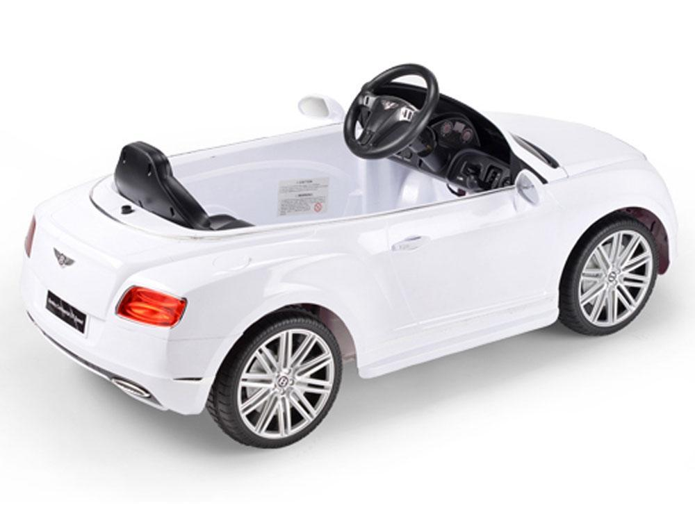 Remote Control - Rastar Bentley GTC 12v White (Remote Controlled)