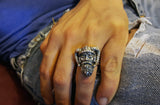 Viking ring Sterling silver by RBZ Jewelry