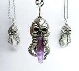 OctoSkull pendant - Unrestrained Jewelry  - 5