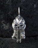 OctoSkull pendant - Unrestrained Jewelry  - 8
