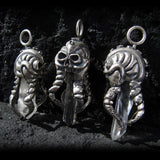 OctoSkull pendant - Unrestrained Jewelry  - 9